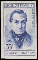 FRANCE Essais  1121 Essai En Bleu: Auguste Comte, Philosophe - Essais