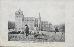 BIHAIN ..-- Château De BOIS SAINT JEAN . 1913 Vers LIERNEUX ( Mr Joseph LEJEUNE ) . Voir Verso TEXTE !! - Vielsalm
