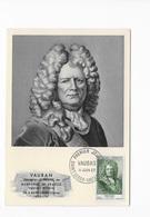 """Carte Maximum """"Vauban"""" 1955 - Maximum Cards"""
