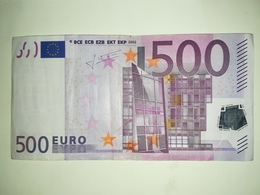 EURO-GERMANY 500 EURO (X) R011 Sign TRICHET - EURO