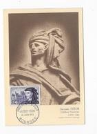 """Carte Maximum Jacques Coeur"""" 1955 - 1950-59"""