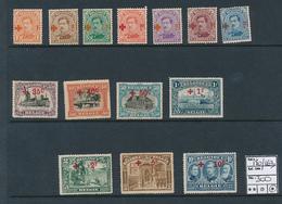 BELGIQUE COB 150/163 LH - 1918 Red Cross