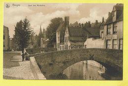 * Brugge - Bruges (West Vlaanderen) * (Nels, Série Bruges, Nr 93) Quai Des Marbriers, Reien, Canal, Quai, Pont, Bridge - Brugge