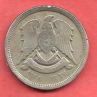 10 Piastres , SYRIE , Cupro-Nickel , AH 1367 , 1948 , N° KM # 83 - Syrie