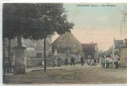 CPA 02 Aisne CHACRISE - Rue Maquaire - Chocolat Menier - France