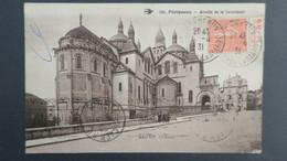 """CPA Perigueux 1931  Type Semeuse N° 199 Bande Pub """" D.U 27 Rue De Chateaudun Paris """" - Marcophilie (Lettres)"""