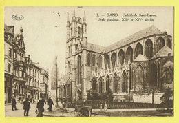 * Gent - Gand (Oost Vlaanderen) * (Marco Marcovici, Nr 3) Cathédrale Saint Bavon, Sint Baafs Kerk, Style Gothique, Char - Gent