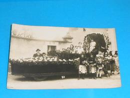 """36 ) Chatillon-sur-indre - Carte Photo  """" Cavalcade """"  N° 20 :  Année  : EDIT : - France"""