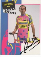 ERIC  CARITOUX  SIGNEE  CHAZAL 1994 - Radsport