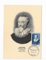 "Carte Maximum ""Malherbe"" 1955 - Maximum Cards"