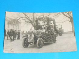 "36 ) Chatillon-sur-indre - Carte Photo  "" Cavalcade ""  N° 9 : Auto VALDA - France"