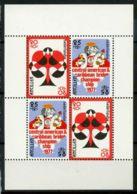 Antilles Néerlandaises 1977 SG MS637 Bloc Feuillet 100% ** Cartes à Jouer - Niederländische Antillen, Curaçao, Aruba