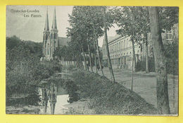 * Oostakker - Oostacker (Gent - Gand) *  (Héliotypie De Graeve) Oostacker Lourdes, Les Fossés, Kerk, Church, église - Gent