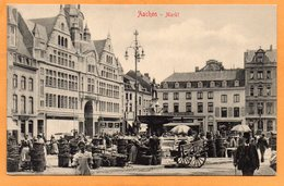 Aachen Germany 1907 Postcard - Aachen