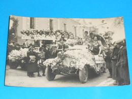 "36 ) Chatillon-sur-indre - Carte Photo  "" Cavalcade ""  N° 7 - Auto - France"