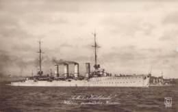 """S.M.S """"Karlsruhe""""  Kleiner Geschützter Kreuzer - Warships"""