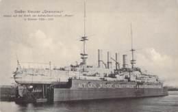 """Großer Kreuzer """"Gneisenau"""" Auf Der Werft - Warships"""