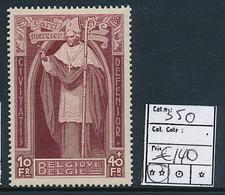 BELGIQUE COB 350 MNH - Unused Stamps