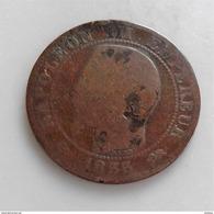 5 CENTIMES NAPOLEON III 1855  D ANCRE TETE NUE 163D - France