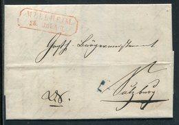 Baden / 1850 / Vorphila-Brief R2-Stempel MUELLHEIM, Rs. R2-Stempel Sulzburg U. E.B. Curs 1 (10257) - Deutschland