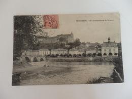 Terrasson, Embouchure Du Brasset écrite à Mme Burg Lingère Au Café Du Nord à Ayen (Corrèze). - Other Municipalities
