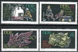 DDR - Mi 1142 / 1145 - ** Postfrisch (A) - 200 Jahre Bergakademie - [6] Democratic Republic
