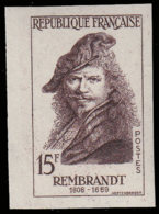 FRANCE Essais  1135 Essai En Brun Violet: Rembrandt - Essais