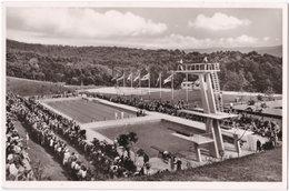Pf. BADEN-BADEN. Schwimmstadion Hardbergbad - Baden-Baden