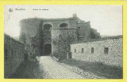* Bouillon (Luxembourg - La Wallonie) * (Ed Nels, Série 2, Nr 28) Entrée Du Chateau, Entrance Castle, Ingang Kasteel - Bouillon