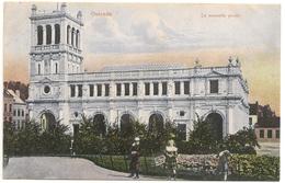 OOSTENDE - Ostende De Nieuwe Post_Grandes Galeries Belges_La Nouvelle Poste 1908 Timbre 1c  - N° 3111a - CPA - Oostende
