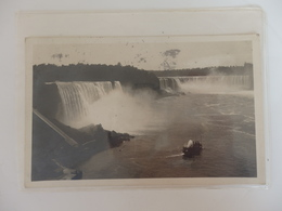 Chutes Du Niagara écrite à Mme Hoffner Villa Jeanne La Garde à Saint-Cast (22). - Non Classés