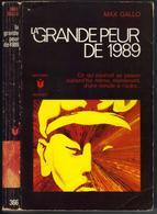 """MARABOUT S-F N° 366 """" LA GRANDE PEUR DE 1989 """" MAX-GALLO - Marabout SF"""
