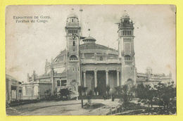 * Gent - Gand (Oost Vlaanderen) * (Marque P.P.) Exposition, Expo 1913, Pavillon Du Congo Afrique, Façade, Rare, Old - Gent