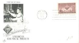 FDC 1951 USA - Química