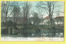 * Liège - Luik (La Wallonie) * (L.L. B., Nr 14) L'étang Du Jardin Botanique, Quai, Canal, Garden, Parc, Couleur, Rare - Luik