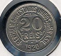 Brasilien. 20 Reis 1920, XF - Brésil