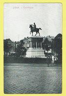 * Liège - Luik (La Wallonie) * (Edit J.F.) Statue Charlemagne, Cheval, Monument, Animée, Enfants, Parc, Rare - Luik