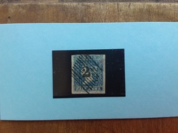 EX COLONIE INGLESI 1854 - INDIA - Regina Vittoria 1/2 Anna Timbrato + Spese Postali - 1854 East India Company Administration