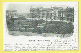 * Liège - Luik (La Wallonie) * Vieille Carte De 1899 Old Postcard, Parc D'Avroy, Panorama, Vue Générale, TOP, Unique - Luik