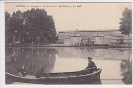 51 LOIVRE La Verrerie Les Fours Le Bief ,barque - France