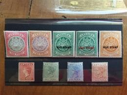 ANTIGUA - Lotticino 9 Differenti Edoardo VII° E Vittoria - Nuovi * + Spese Postali - Antigua & Barbuda (...-1981)