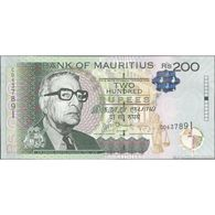 TWN - MAURITIUS 61b - 200 Rupees 2013 Prefix CD UNC - Mauritius