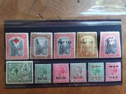EX COLONIE INGLESI - BAHAMAS - Lotticino 11 Francobolli Giorgio V° Nuovi * (1 Valore Timbrato) + Spese Postali - Bahamas (...-1973)