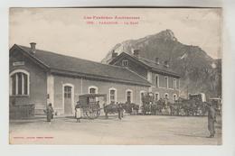 CPA TARASCON SUR ARIEGE (Ariège) - La Gare - France