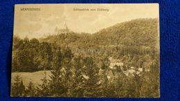 Wernigerode Schlossblick Vom Eichberg Germany - Wernigerode