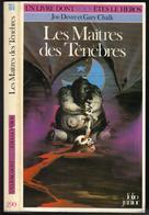 """L-D-V-H N° 290 """" LES MAITRES DES TENEBRES """" - Fantasy"""
