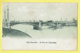 * Liège - Luik (La Wallonie) * Exposition, Expo, Le Pont De L'exposition, Canal, Quai, Bridge, Brug, Rare - Luik