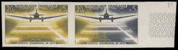 FRANCE Essais  1196 Paire D'essais Bicolore, Bdf: Journée Du Timbre 1959, Aéropostal De Nuit - Proofs