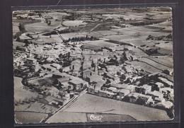 CPSM 34 - MONTBAZIN - Vue Générale Aérienne - TB PLAN D'ensemble Du Village Avec Détails Intérieur CP Voyagée 1956 - Autres Communes