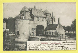 * Brugge - Bruges (West Vlaanderen) * (Wereldpostvereeniging) Porte D'Ostende, Oostendse Poort, Entrée, Rare - Brugge
